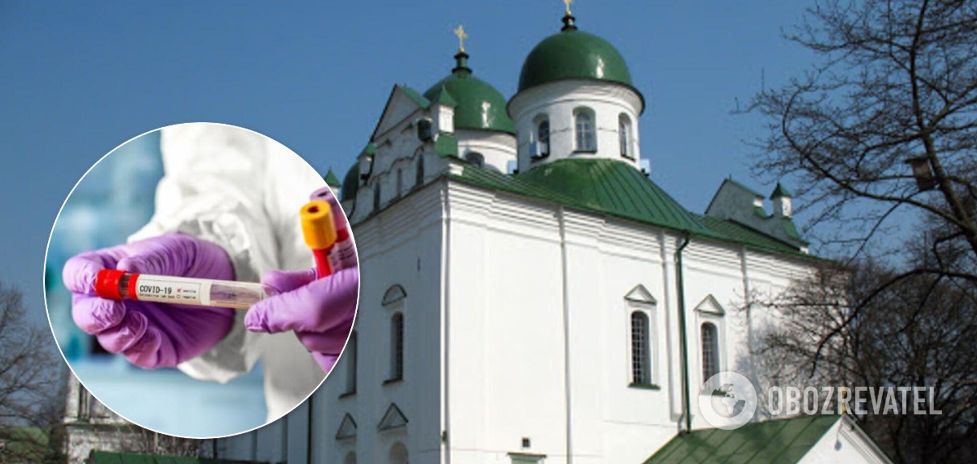 Вспышка COVID-19 произошла в женском монастыре Киева. Иллюстрация