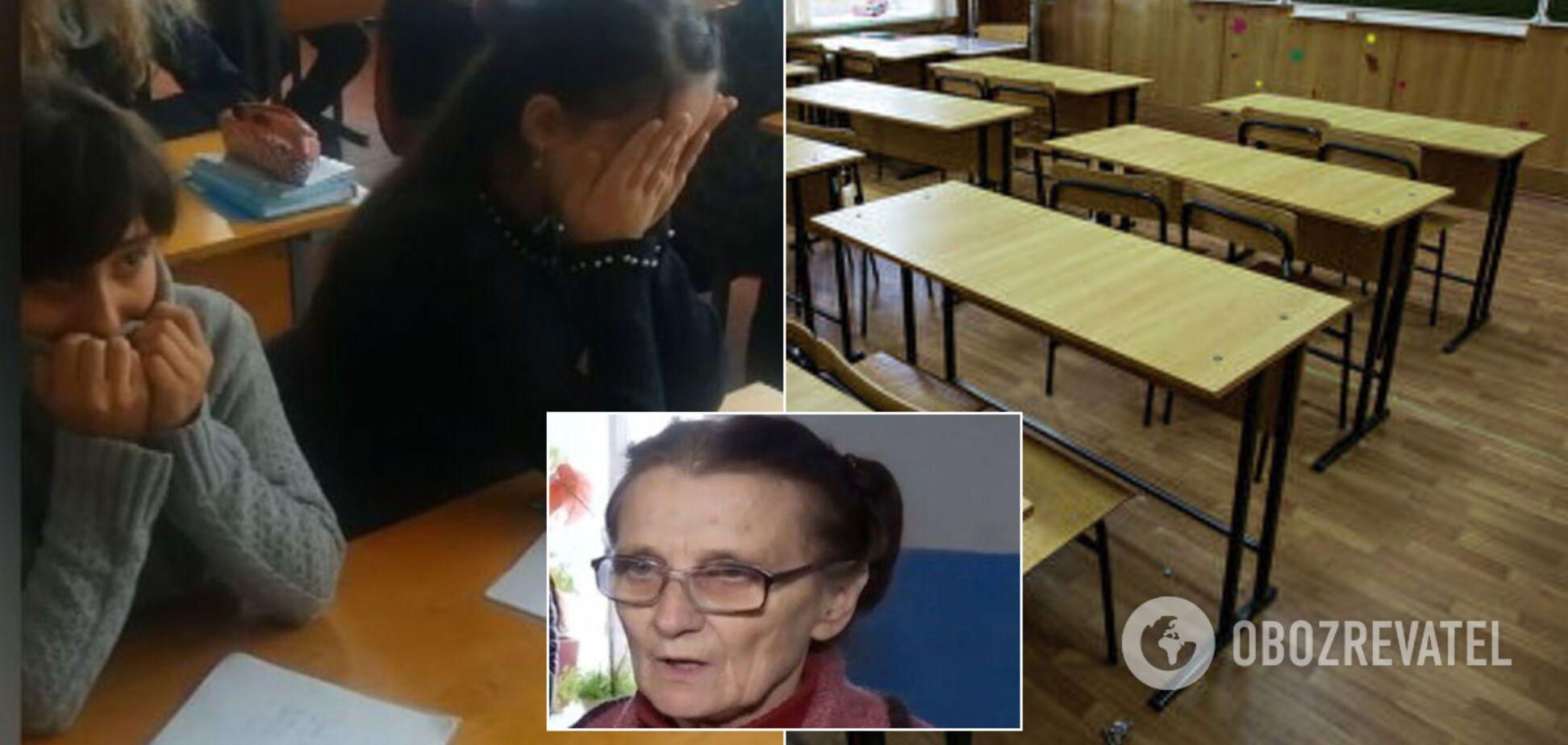 Судится с соседями и бьет тяпкой по голове: появились детали скандала с учительницей на Сумщине, которая брала детей в 'заложники'