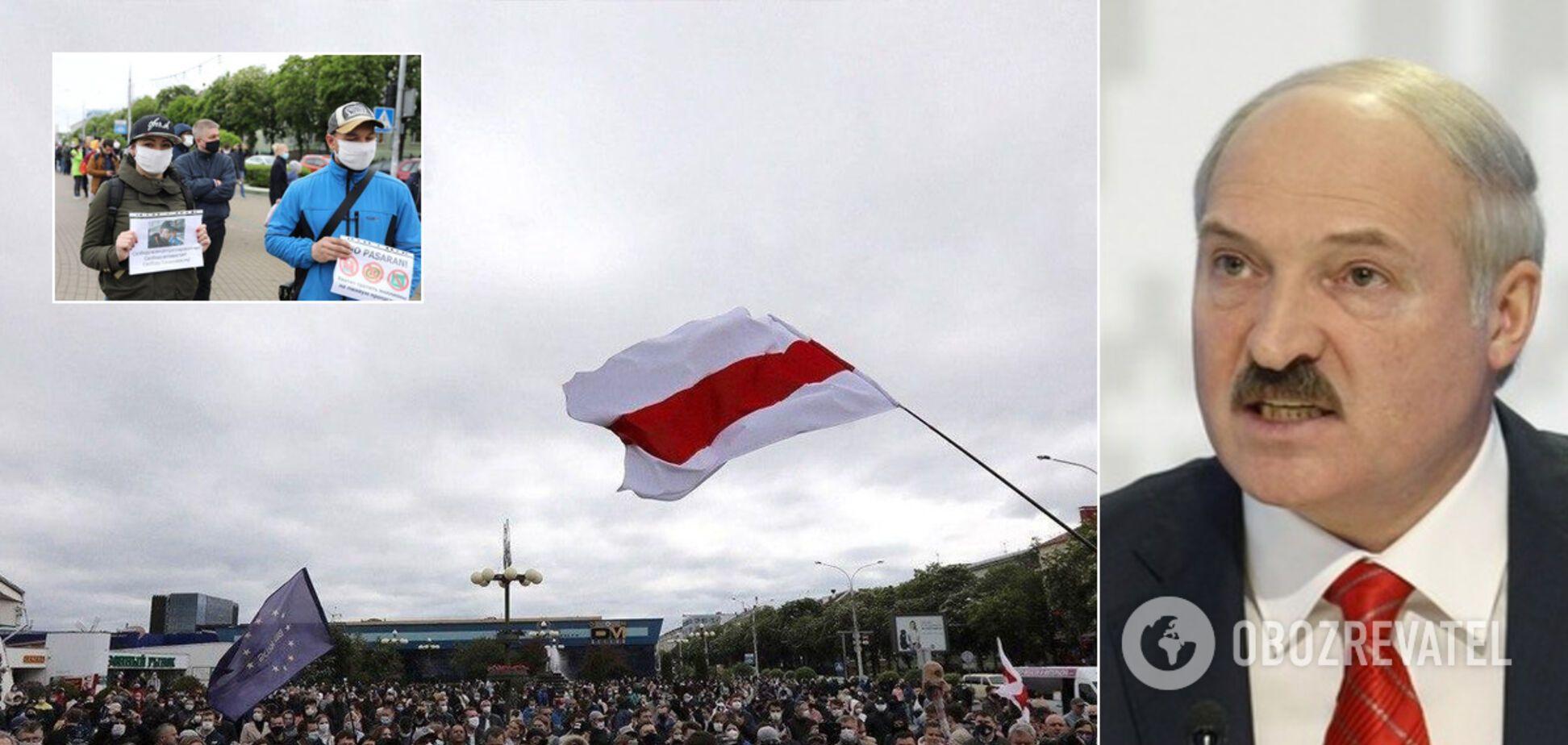 Мінськ охопили масштабні акції протесту через вибори. Фото і відео