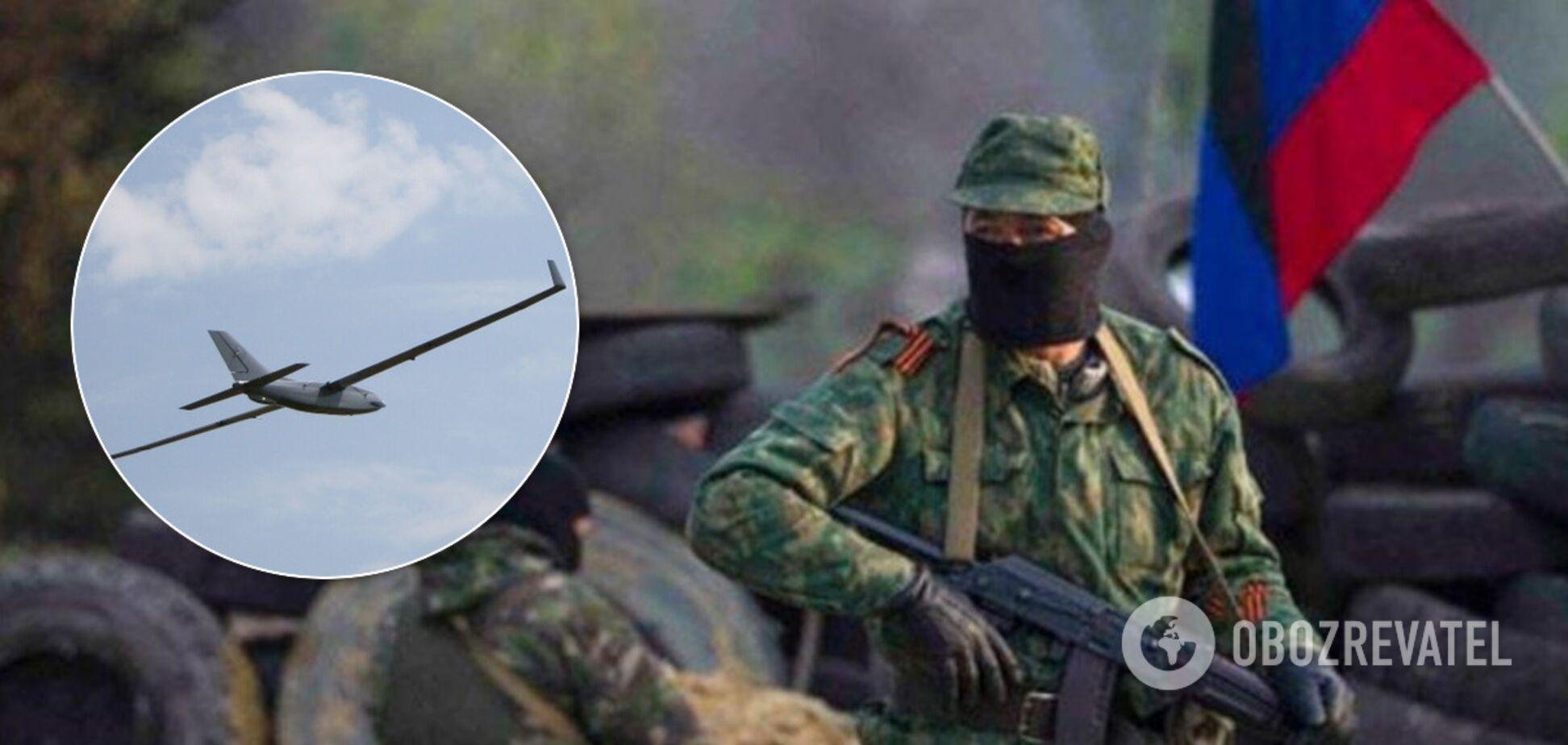 Беспилотник террористов атаковал позиции ВСУ на Донбассе: есть раненый