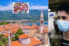 Черногория открыла въезд для граждан из 120 стран: пустят ли украинцев