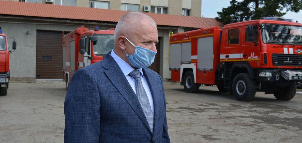 Люстрований Щербей знову став начальником ДСНС Закарпаття