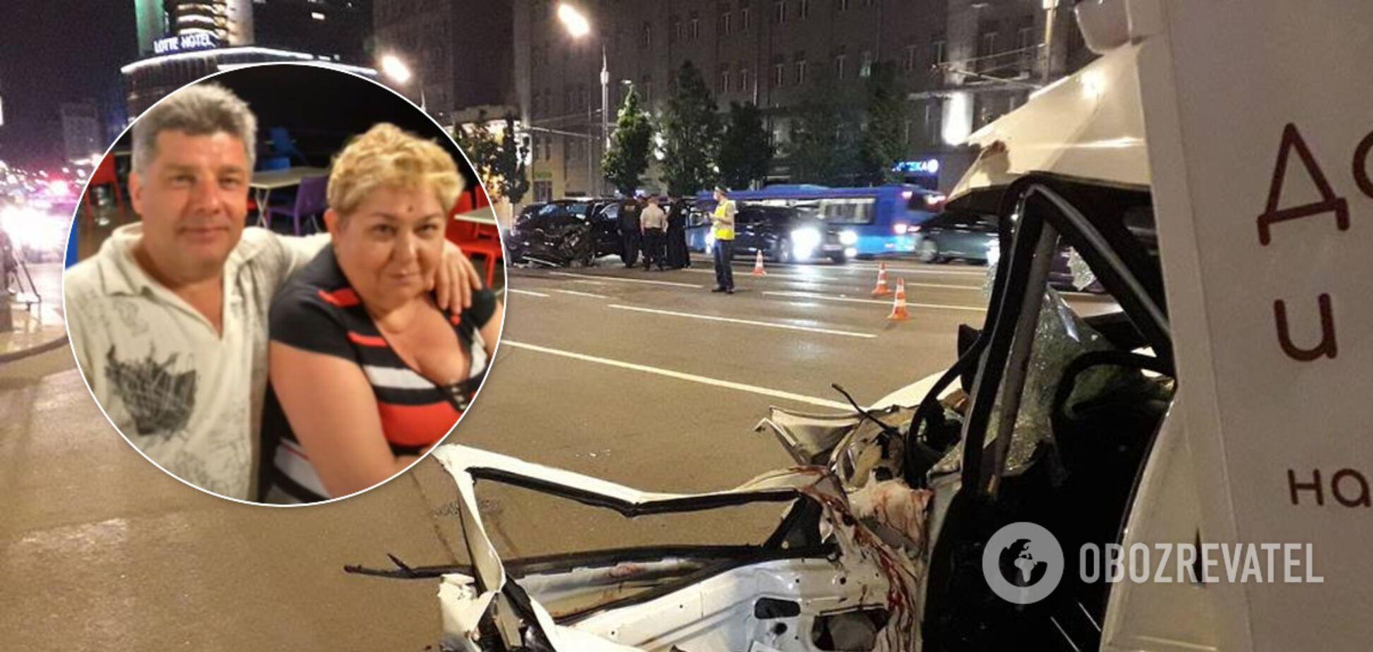 Дружина загиблого в ДТП Сергія Захарова розповіла про допомогу від Єфремова