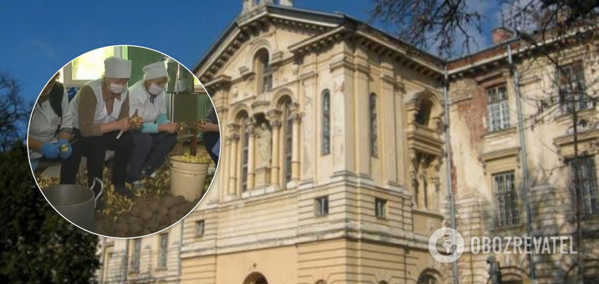 На Львівщині голодують 400 пацієнтів психіатричної лікарні: не бачили м'яса два місяці. Відео