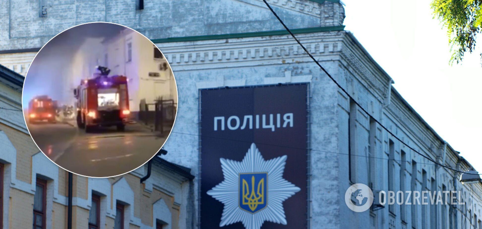 У Києві ледь не згоріла будівля ГСУ Нацполіції: під загрозою резонансні справи. Відео