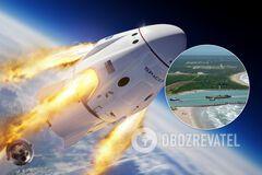 Названо дату повернення астронавтів Маска на Землю
