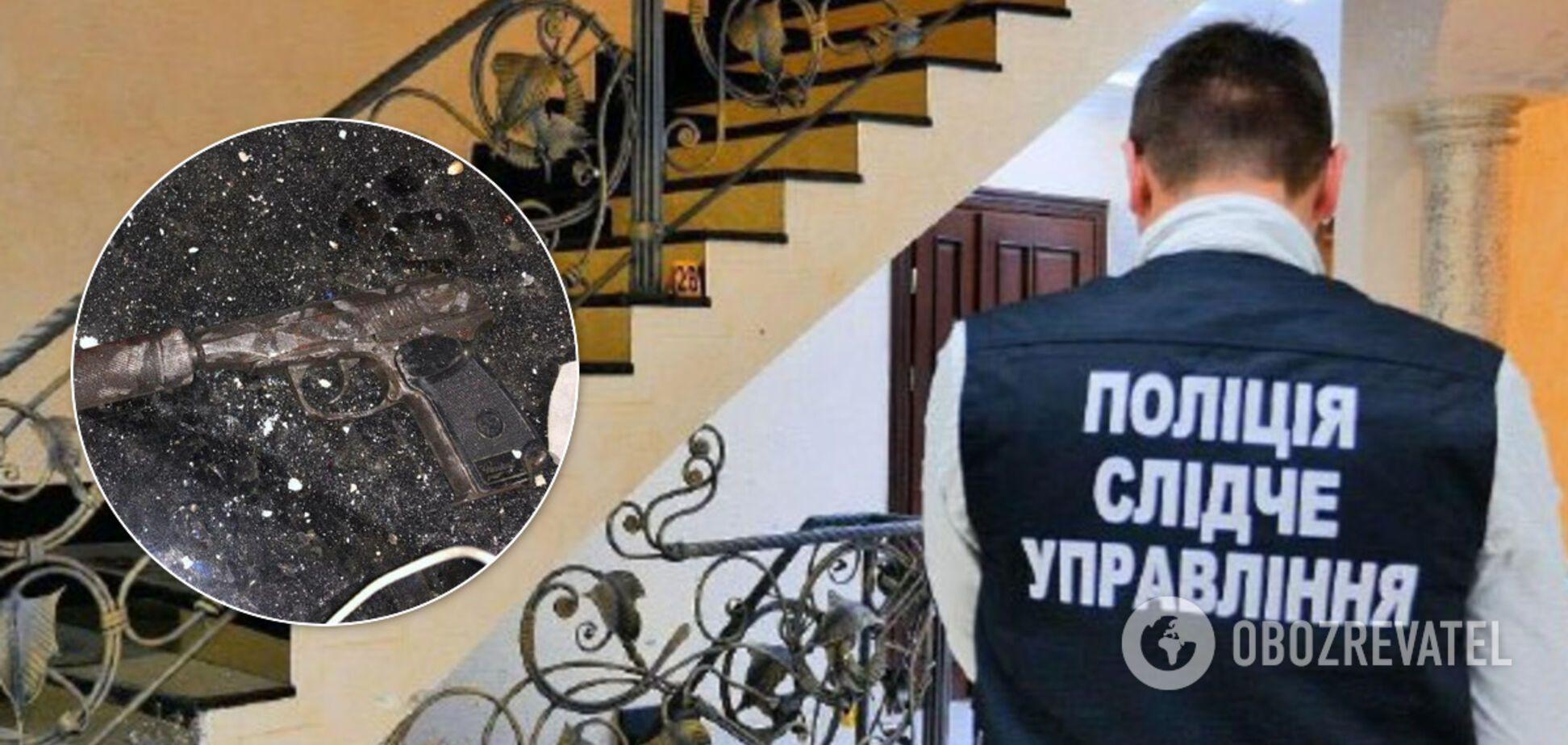 В Черновицкой области иностранец устроил стрельбу на месте преступления и ранил копов. Фото