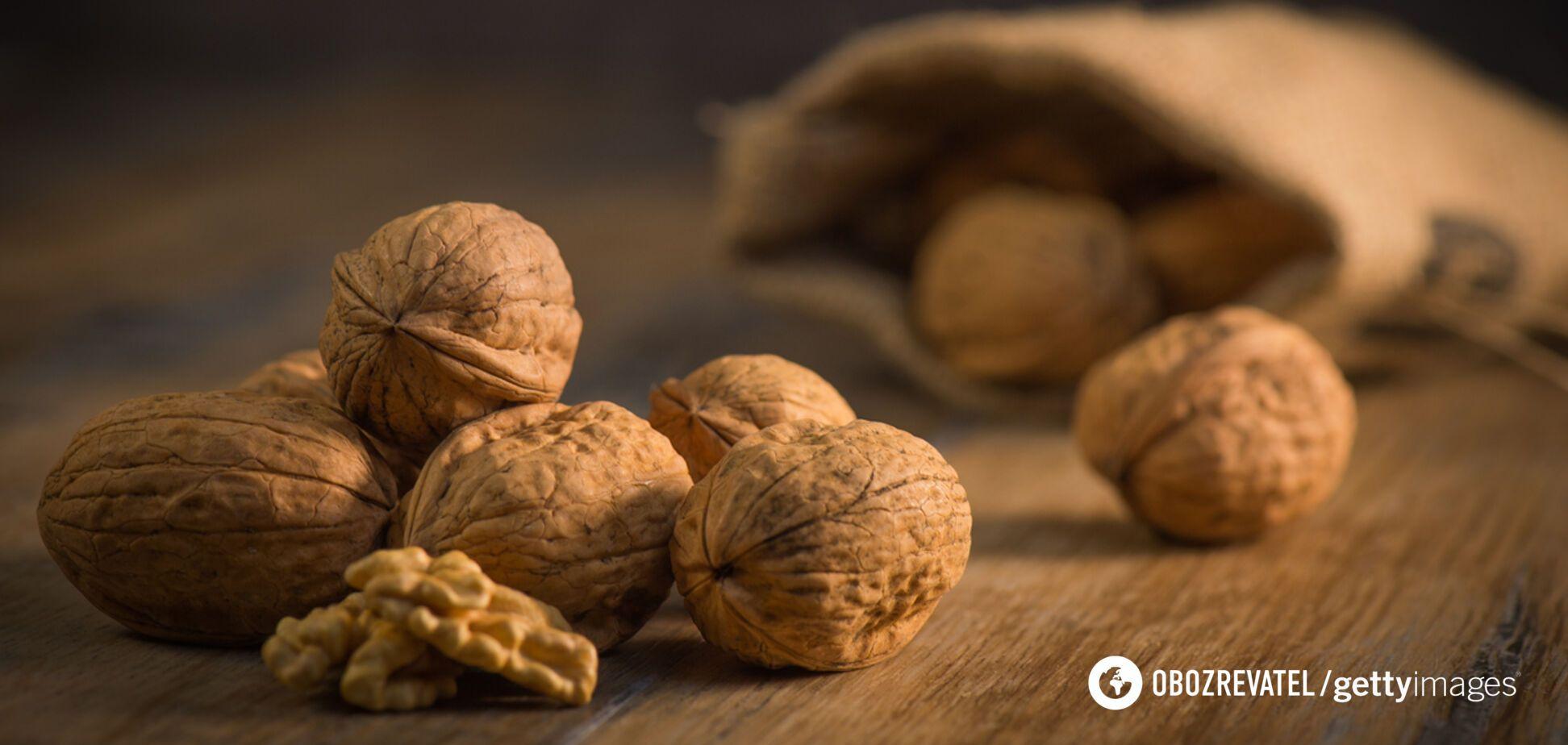 Озвучено 7 причин, чому волоські горіхи потрібно їсти щодня