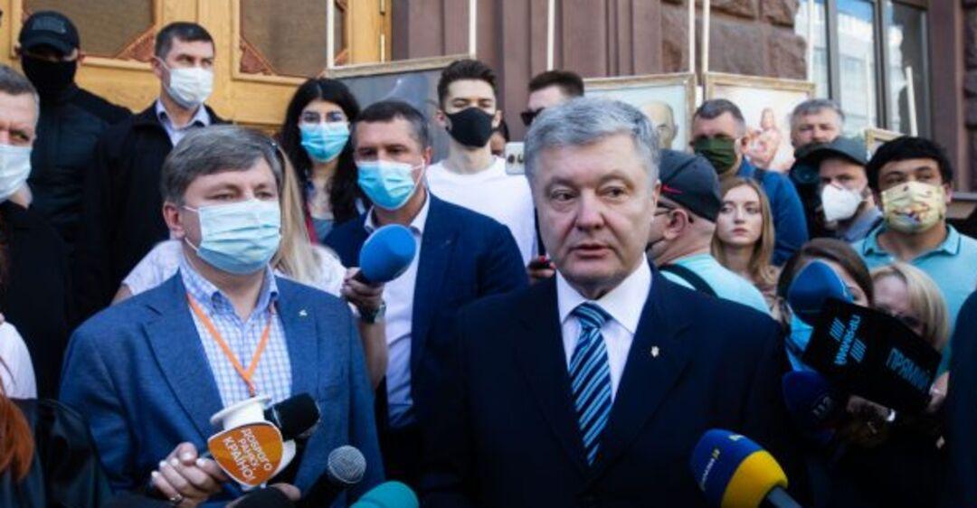 Порошенко под ГБР мощно обратился к Зеленскому из-за преследований