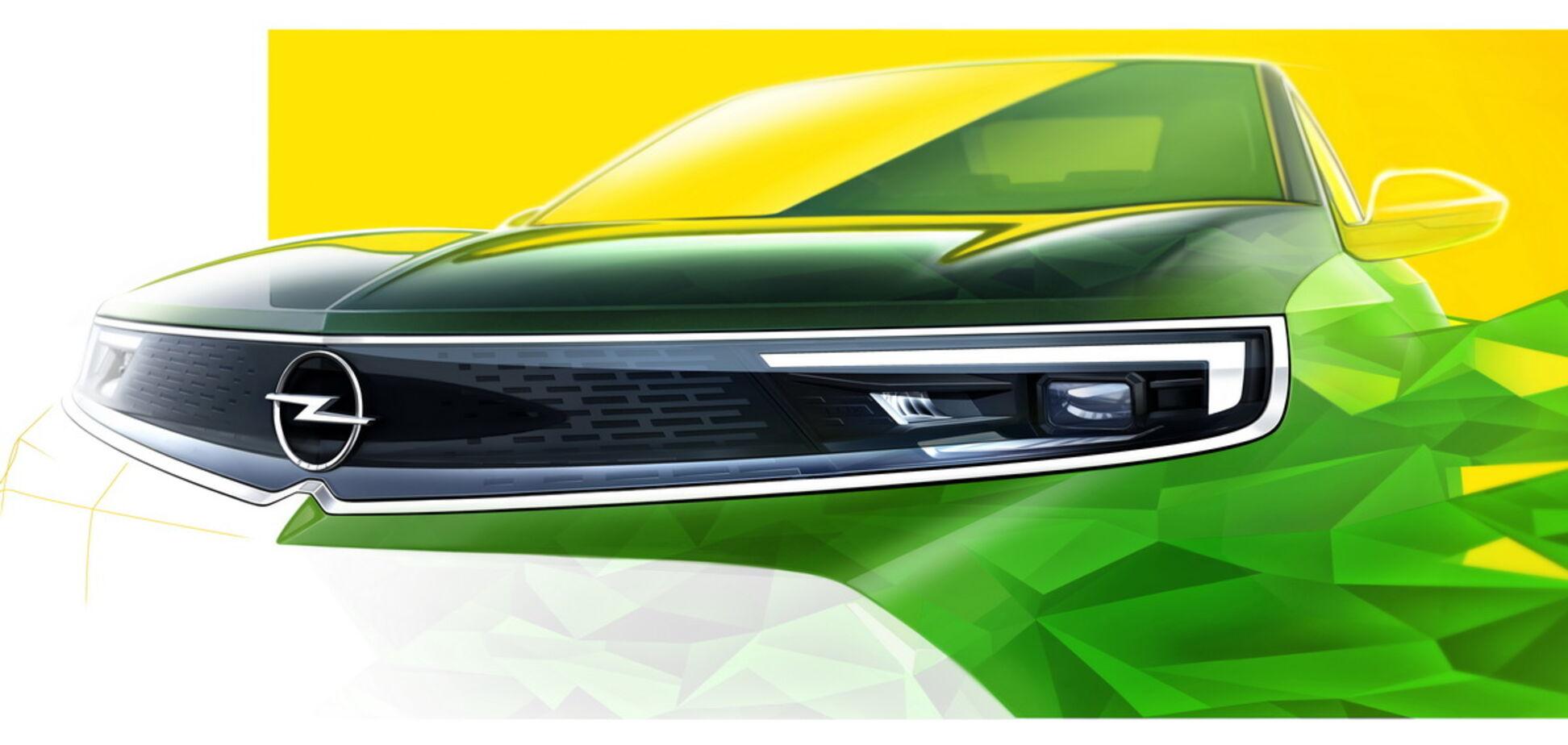 Компактный кроссовер Opel Mokka заинтриговал дизайном