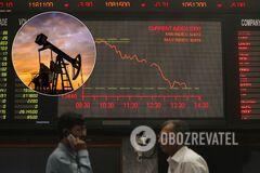 Цены на нефть начали падать из-за новой угрозы коронавируса