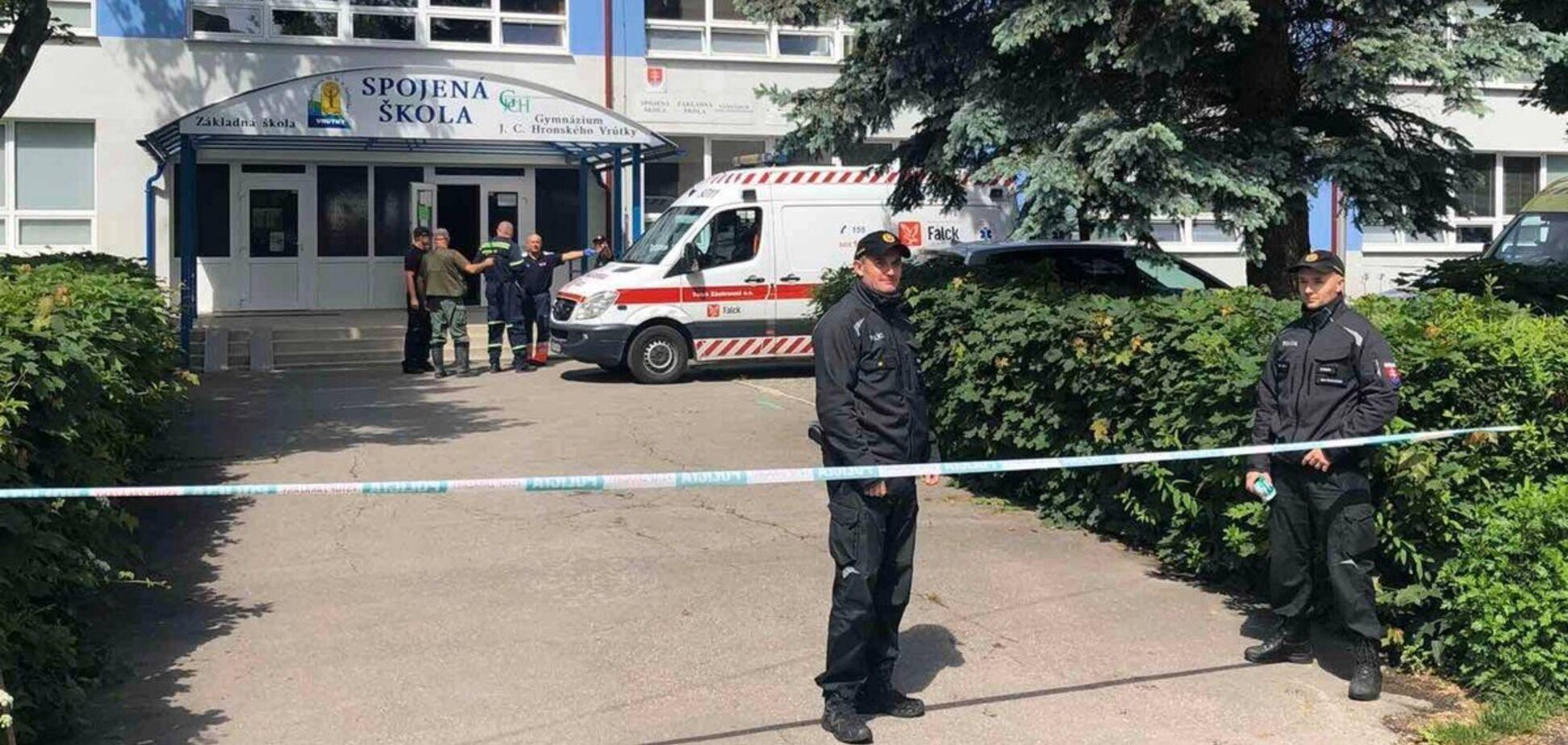 У Словаччині чоловік з ножем напав на школу: є загиблий та поранені діти. Фото і відео