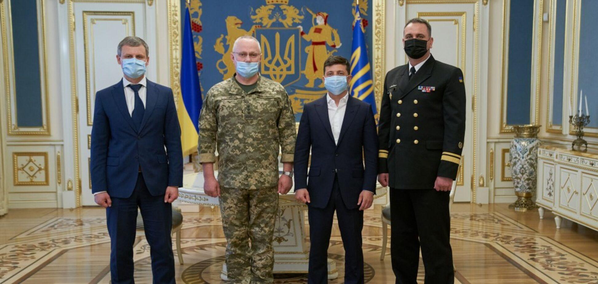 Алексей Неижпапа стал командующим Военно-Морских сил