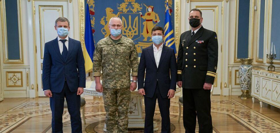 Олексій Неіжпапа став командувачем Військово-Морських сил