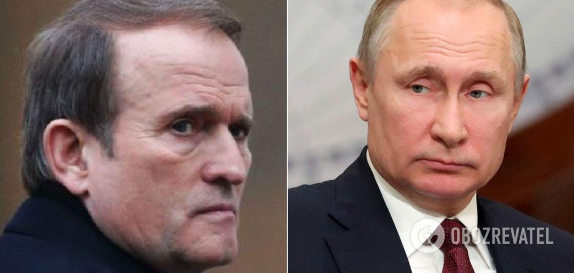Медведчук – єдиний кандидат в президенти від Путіна