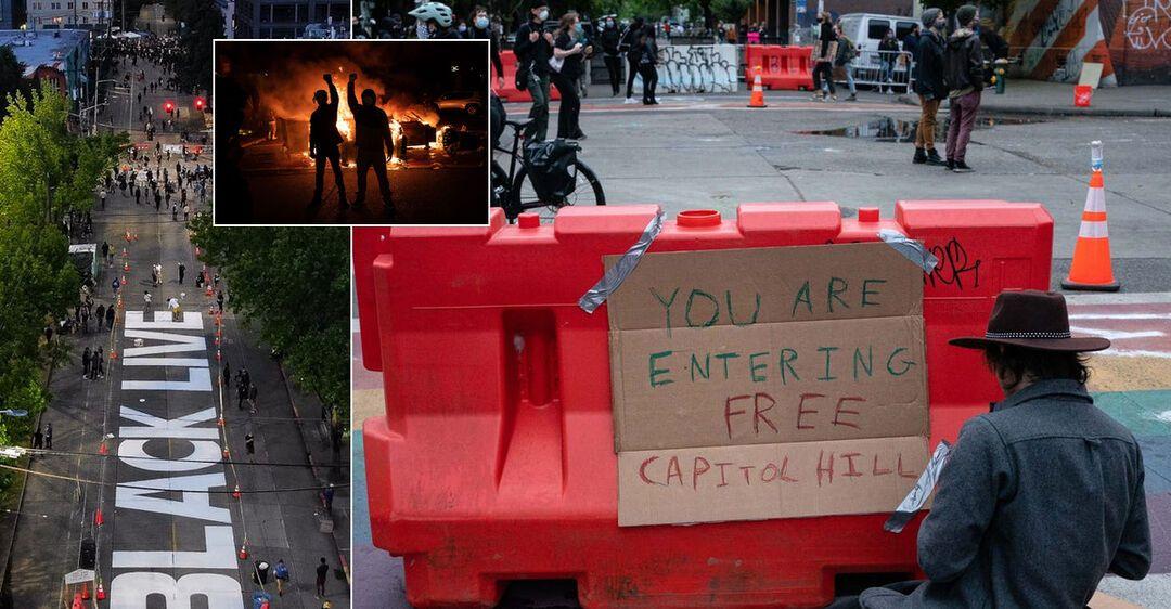 В США протестующие захватили часть города и провозгласили 'автономию': Трамп потребовал немедленно их прогнать