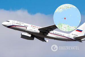 Самолет РФ прорвался через границу Эстонии
