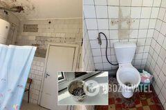 Скрізь цвіль і попільнички: в мережі показали страшні умови українського пологового будинку. Фото