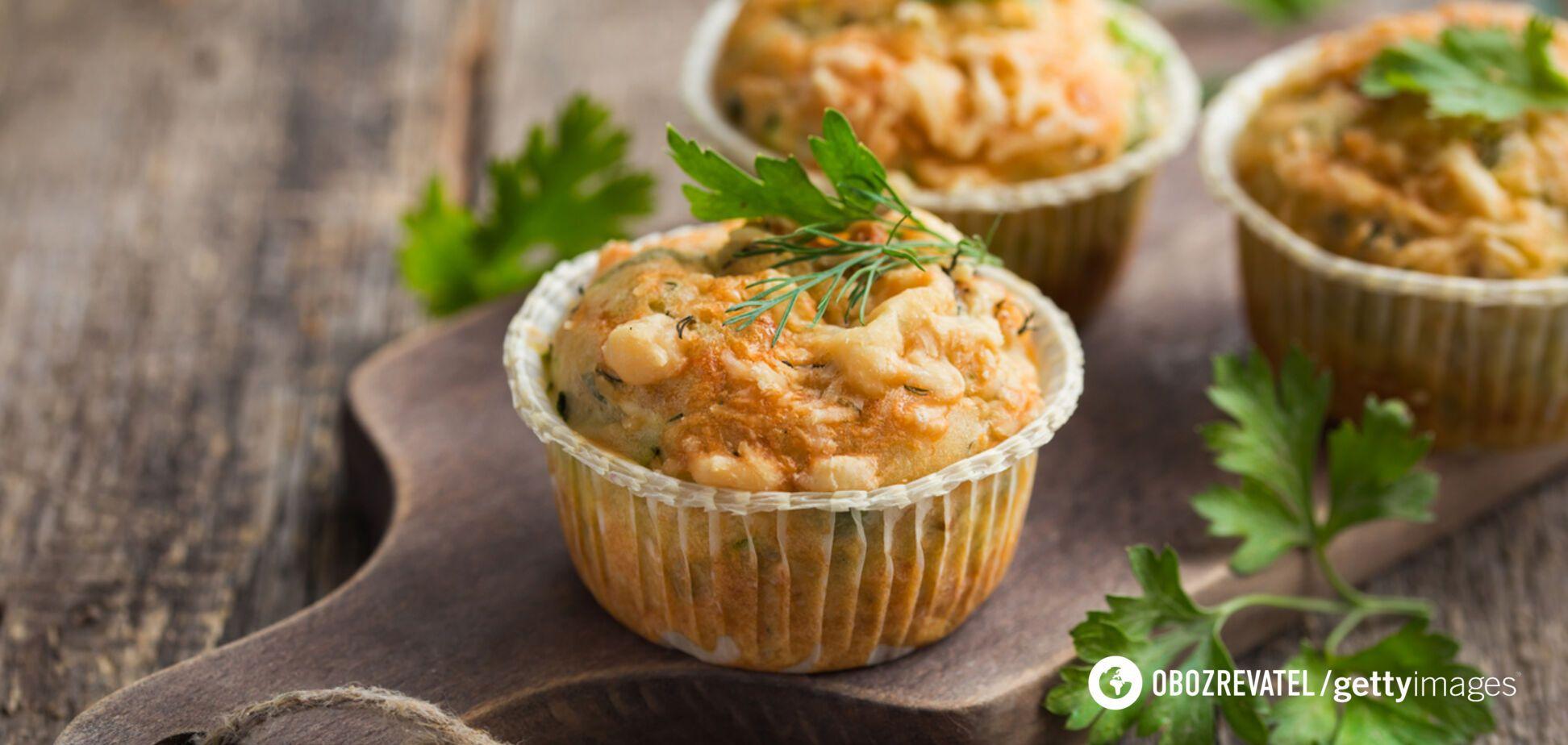 Мафіни з кабачком і сиром: рецепт, який нікого не залишить байдужим