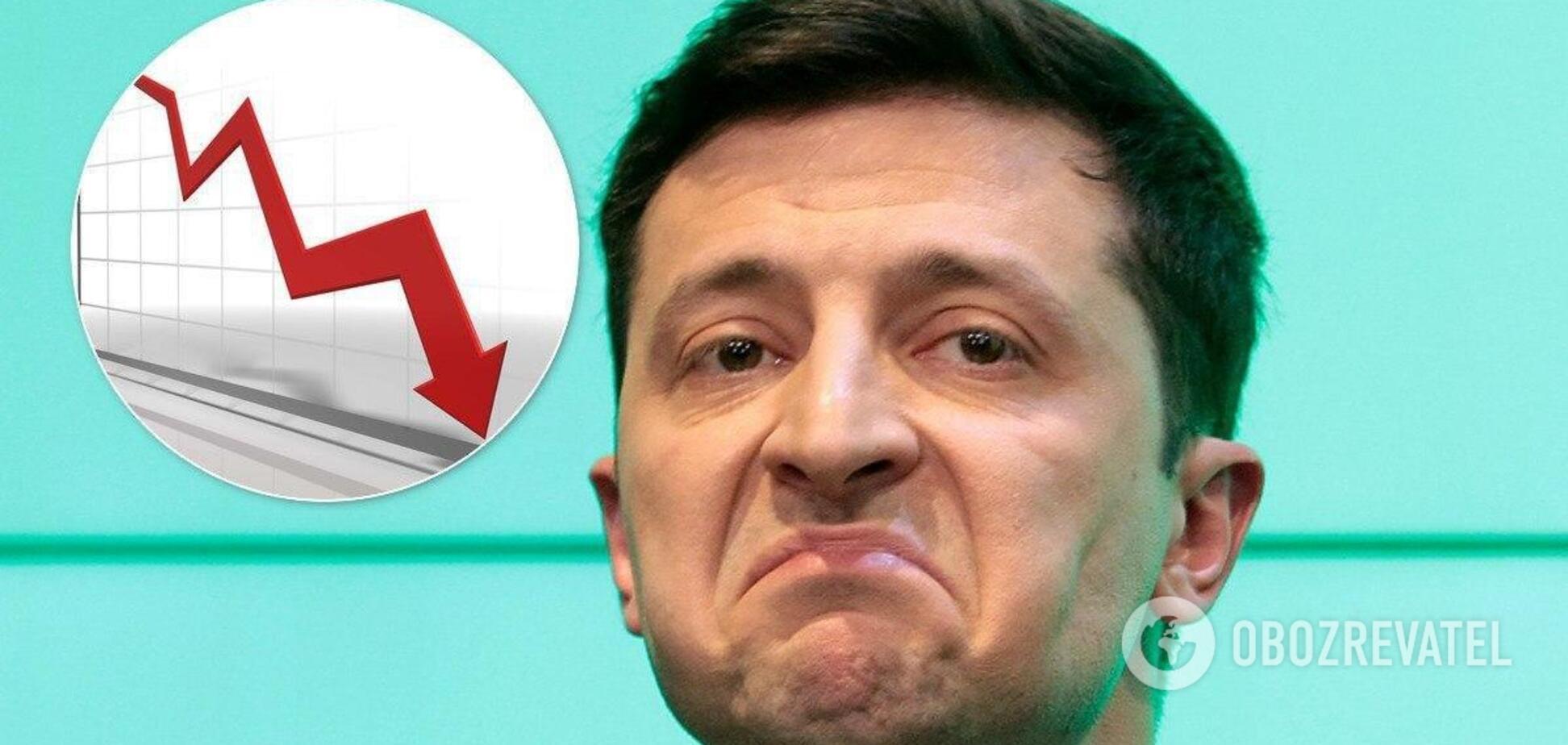 Паніотто пояснив причину падіння рейтингу Зеленського