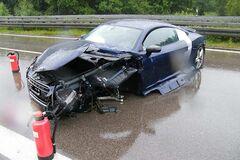 18-річна дівчина 'розвалила' на трасі суперкар Audi R8