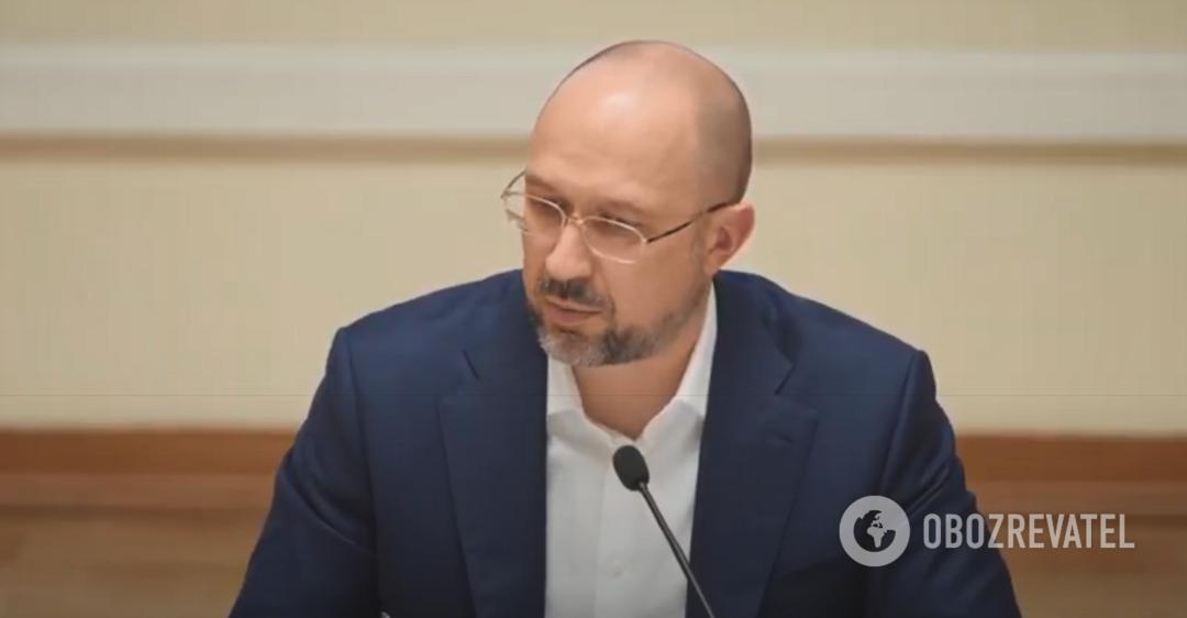 Шмыгаль осадил журналиста на брифинге: на провокационные вопросы отвечать не буду