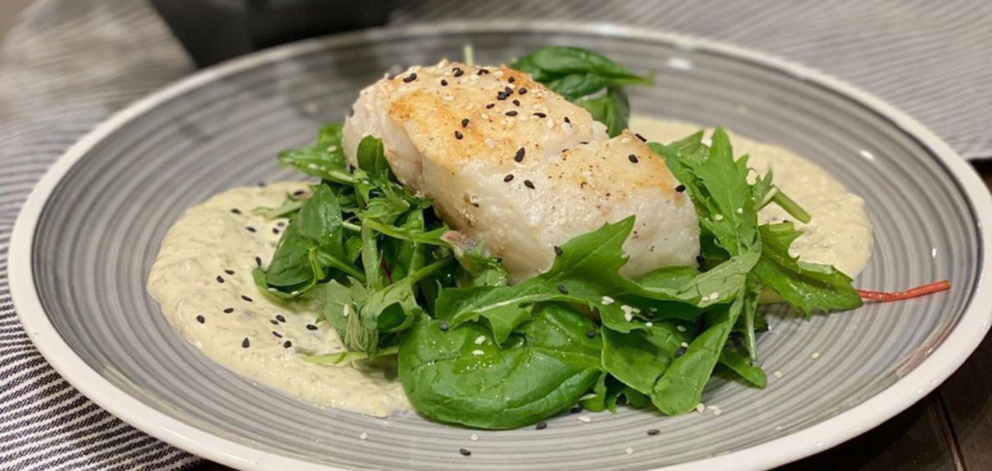 Риба з соусом тартар від популярного фудблогера