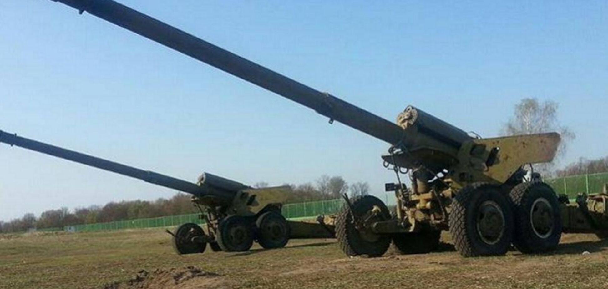 Артиллерия России на Донбассе