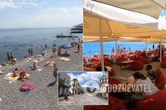 В Крыму открыли курортный сезон: в сети показали 'переполненные' пляжи. Видео