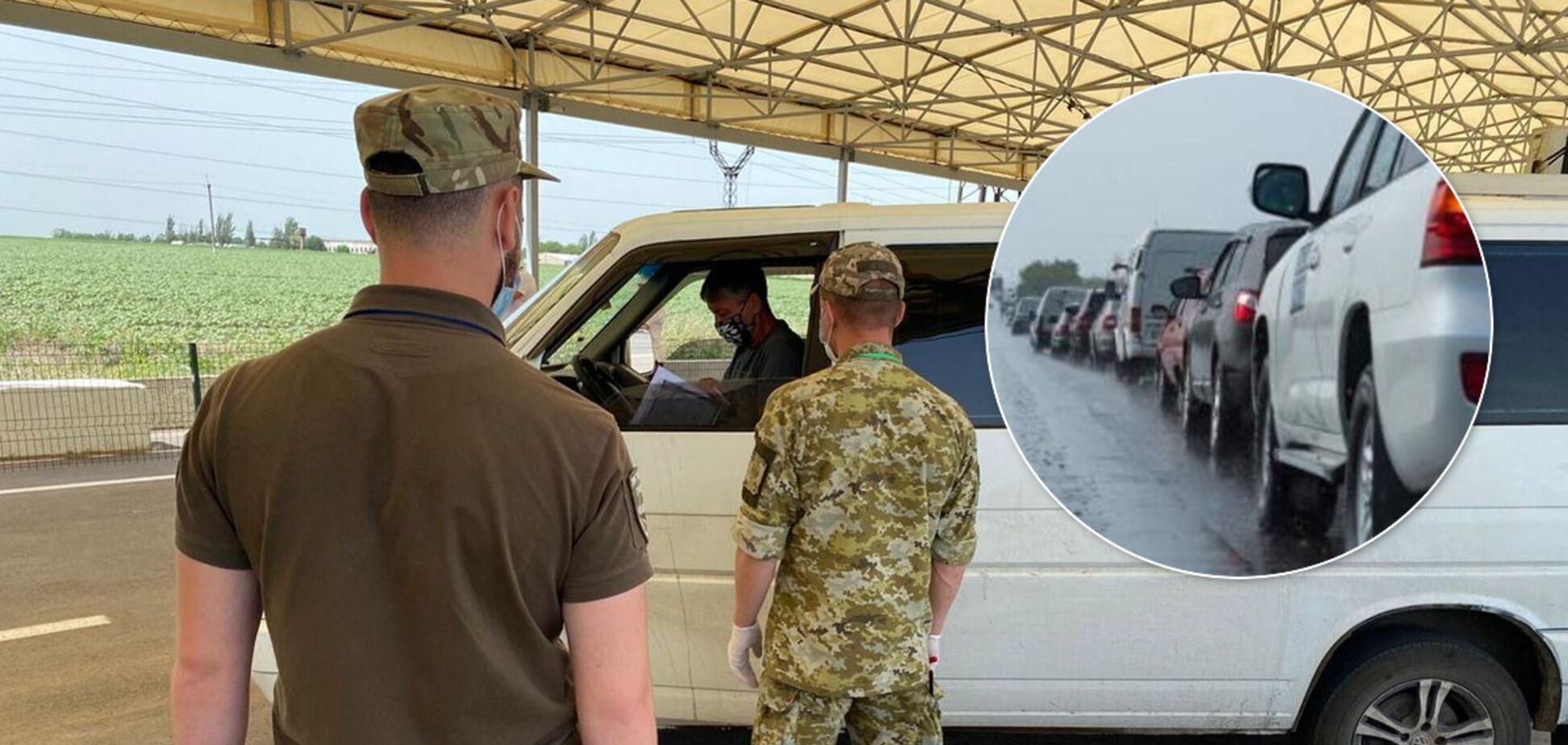 Российские оккупанты не разблокировали работу КПВВ на Донбассе