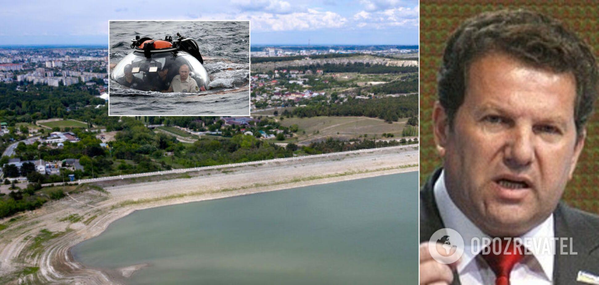 Крым задыхается без воды, у Украины есть джокер для Кремля – Куницын