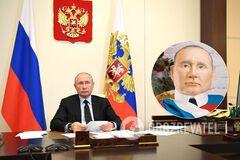 У Якутську спекли торт з головою Путіна
