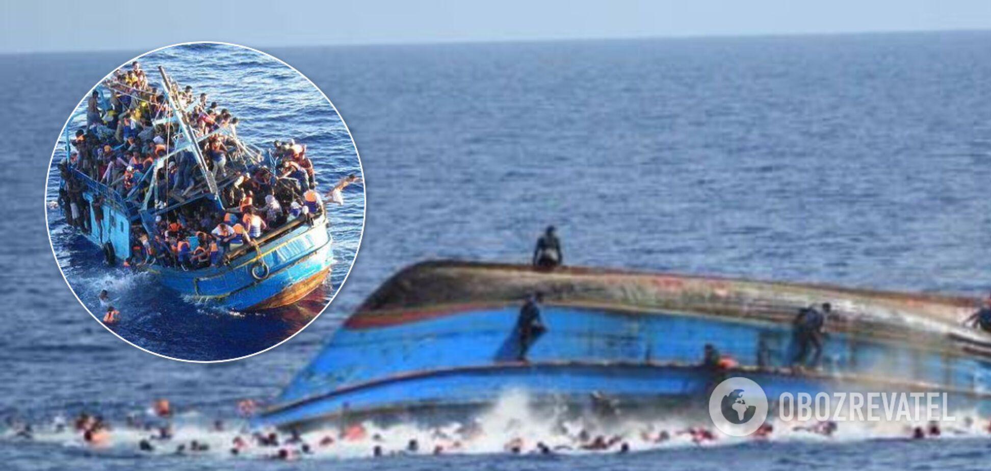 Біля берегів Тунісу затонуло судно з мігрантами: 48 загиблих