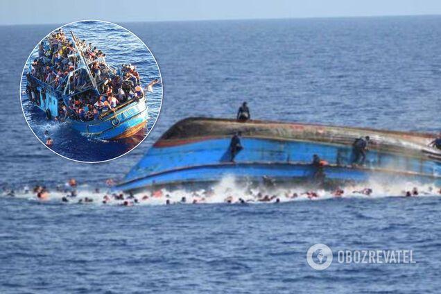 У берегов Туниса затонуло судно с мигрантами: 48 погибших