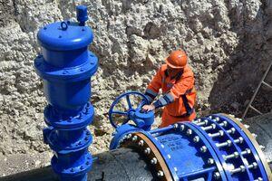 Запуск воды в Симферополь