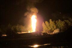 У Росії вибухнуло газосховище: є загиблий та постраждалі. Відео вогняного факела