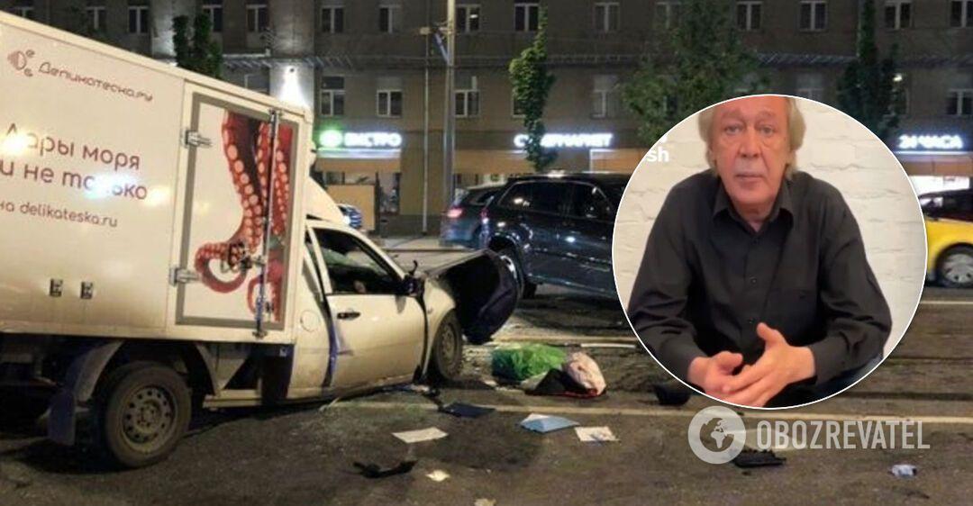 Михаил Ефремов записал видеообращени к семье погибшего