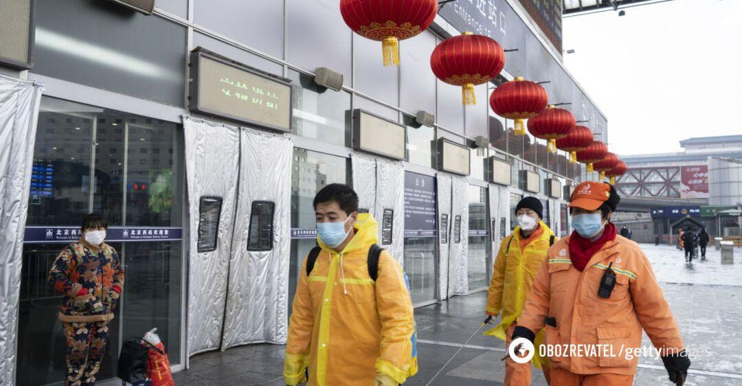 В Китае на рынке вспышка коронавируса: Пекин ввел режим 'военного времени'