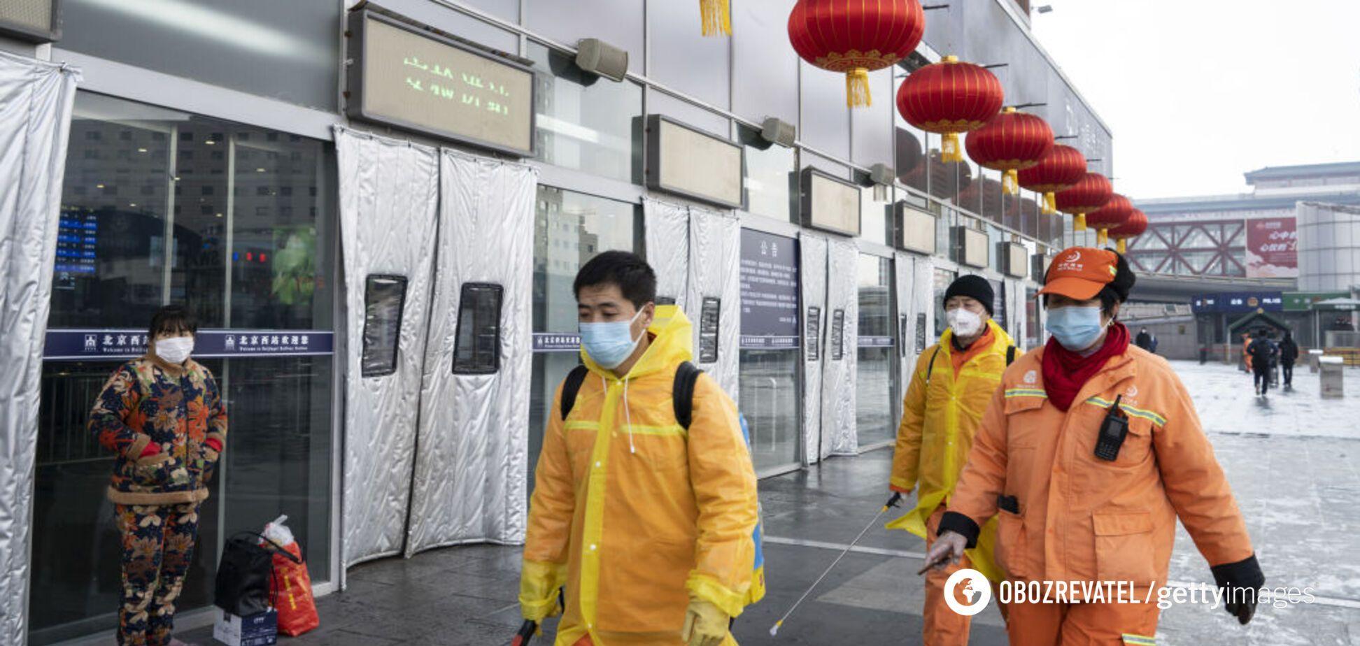 В Китай 'вернулся' коронавирус