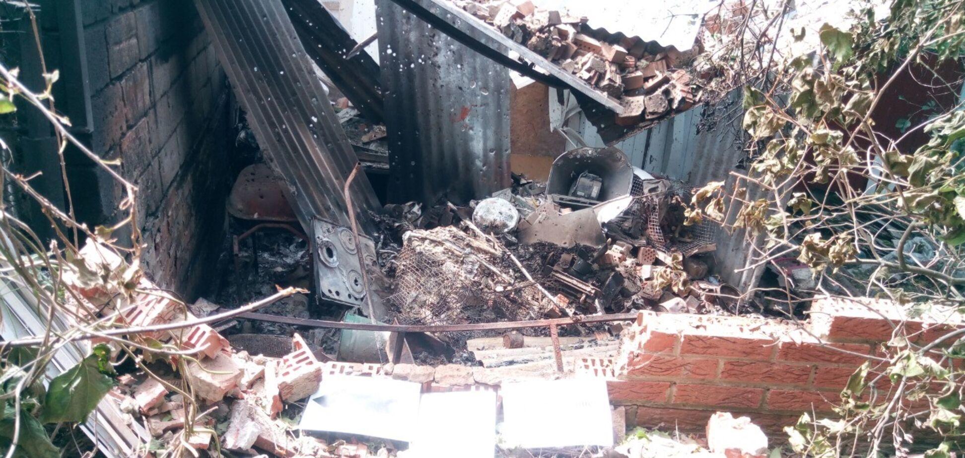 Российские военные ударили по мирному населению в Широкино