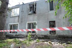 Масштабный пожар в Каменском: жильцам сгоревшего дома готовят компенсацию