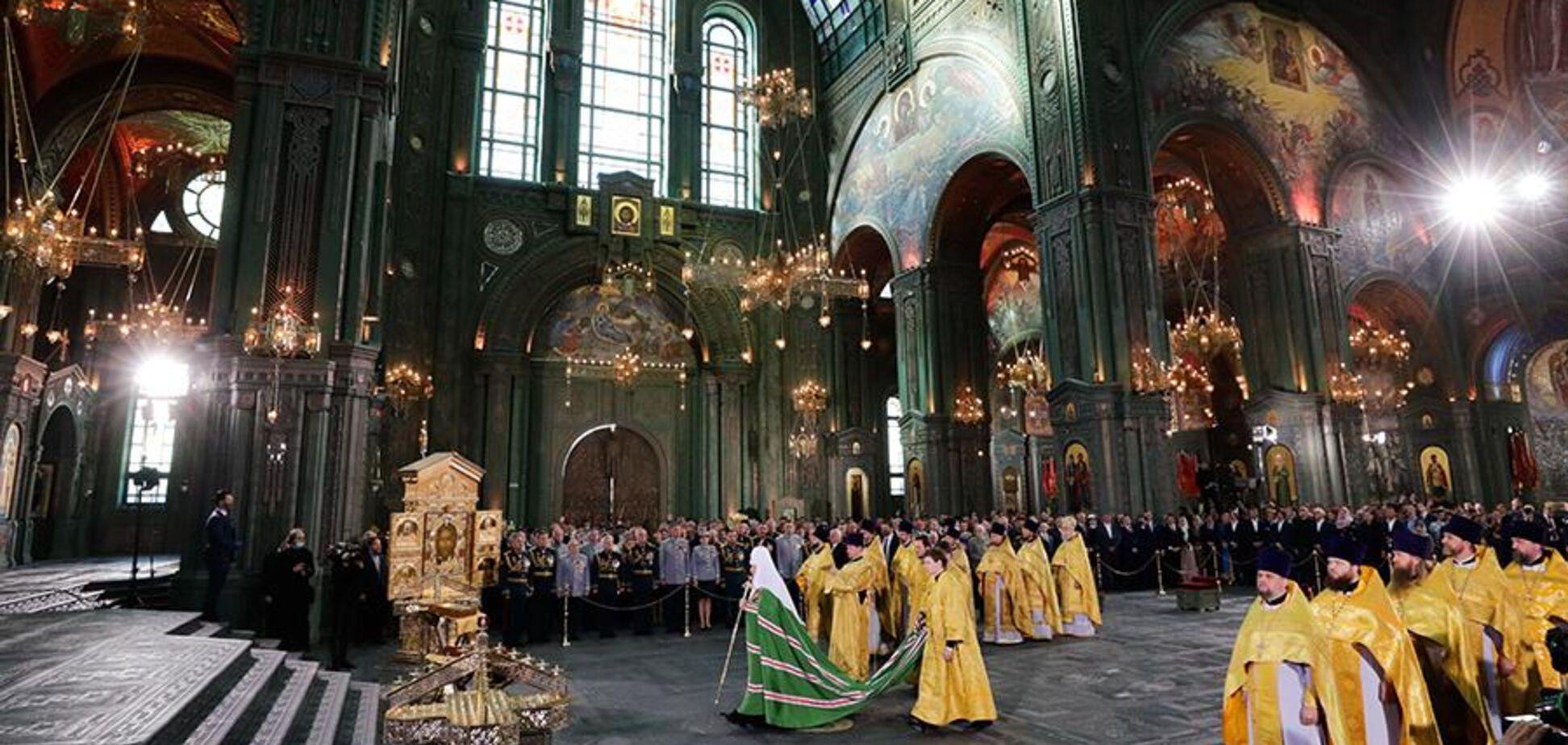 Патріарх Кирил освятив головний храм ЗС РФ і обурив мережу. Фото та відео