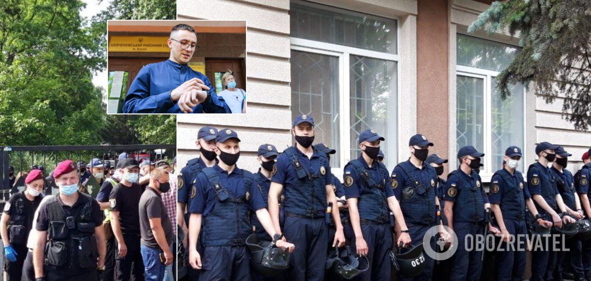 Стерненка відправили під домашній арешт: всі подробиці про суд та протести. Фото та відео