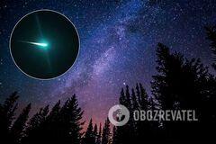 В небе над Австралией пролетел ярко-зеленый огненный шар