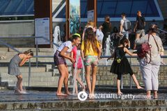 В Киеве зафиксирован новый температурный рекорд за 140 лет