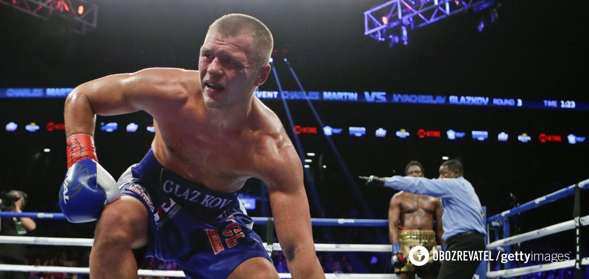 В'ячеслав Глазков провів останній бій у січні 2016- го року