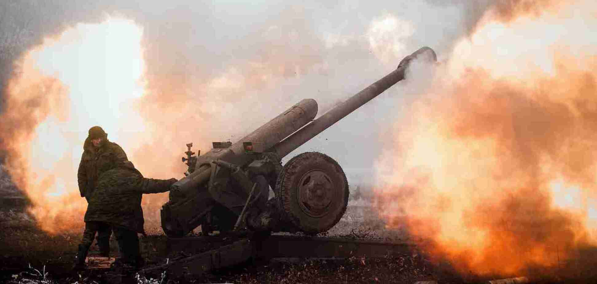Обстрел на Донбассе