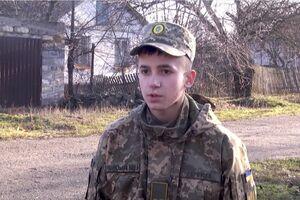 Президент нагородив 17-річного Олександра Гаркуша за порятунок дітей