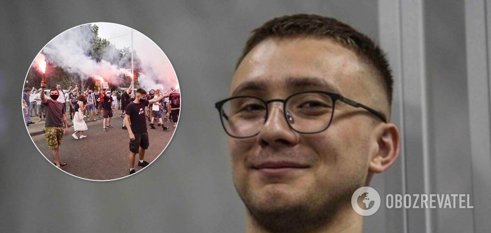 Суд изменил решение по домашнему аресту Стерненко: все детали, фото и видео