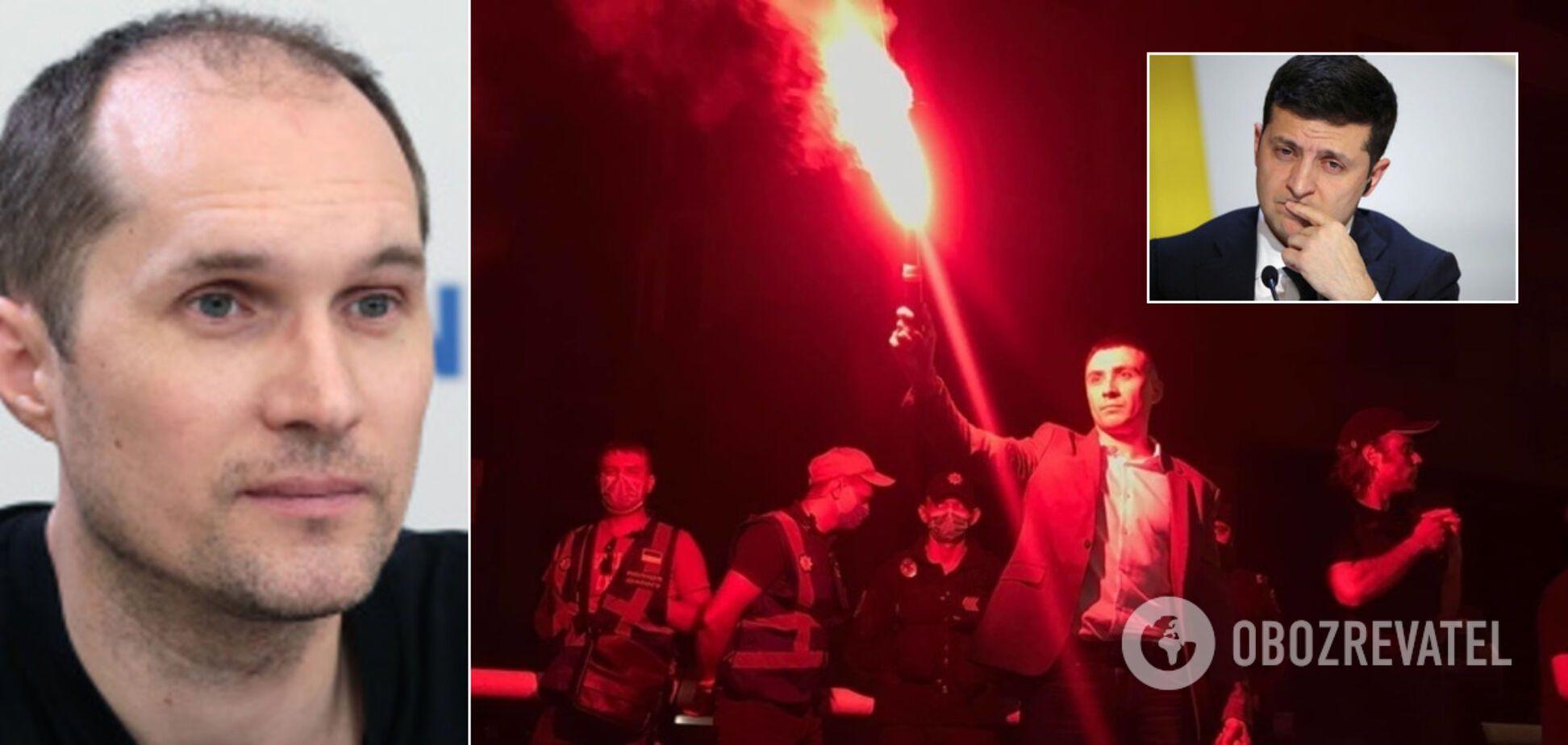 Акція Стерненка під будинком Зеленського знищила владу президента – Бутусов